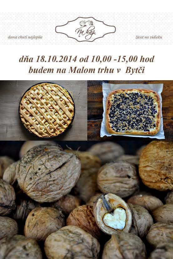 Pozvanie na jesenný Malý trh