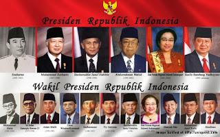 Daftar Urutan Presiden dan Wakil Presiden Indonesia dari dulu sampai sekarang | Blog Brema
