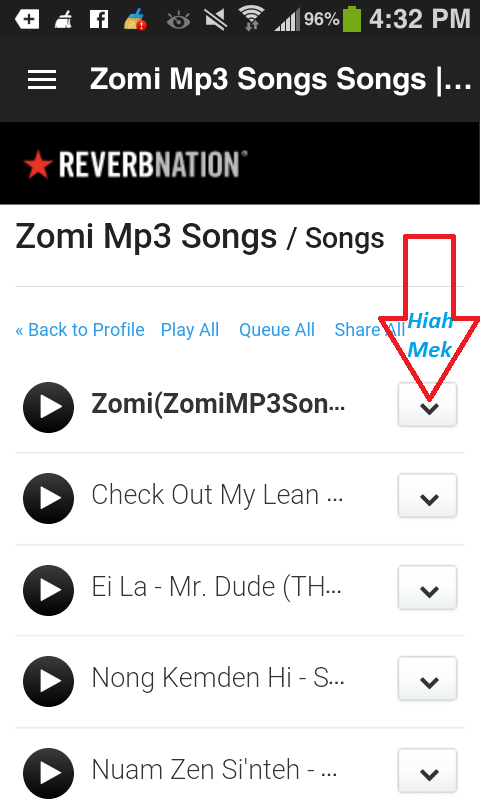 How To Download Free Zomi Mp3 Songs From Iphone Or Android Phone