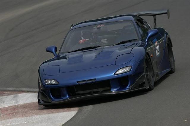 Mazda RX-7 FD wankel rotary japoński sportowy samochód