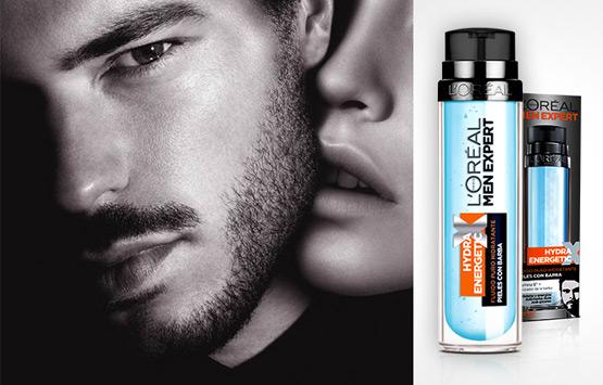 hidratante para hombres pieles con barba Hydra Energetic de L'Oréal Men Expert