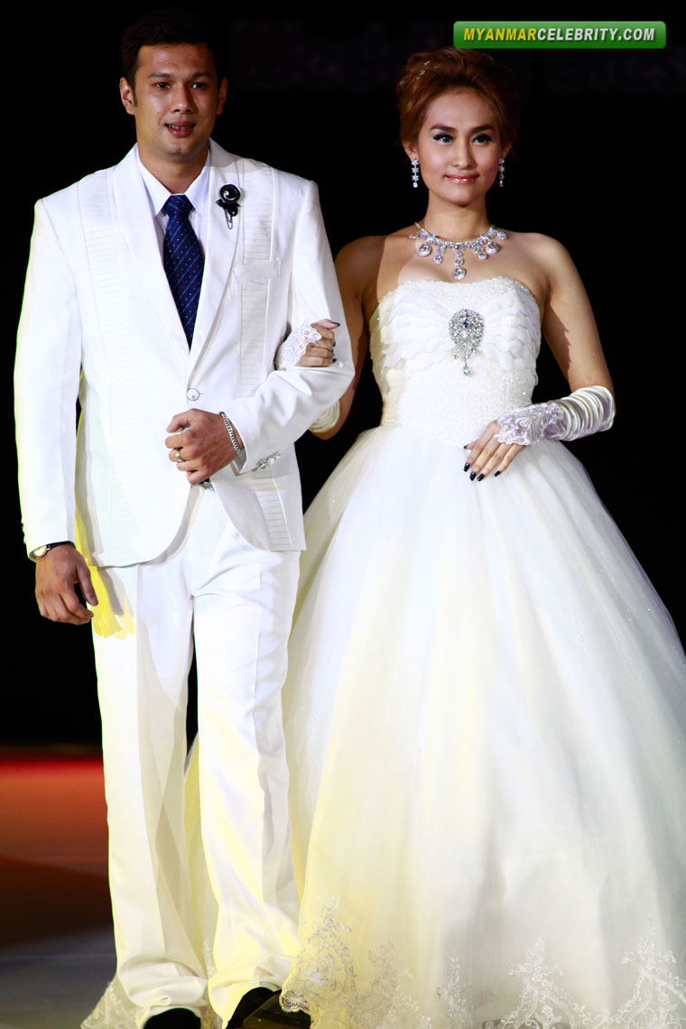 Myanmar celebrity couple