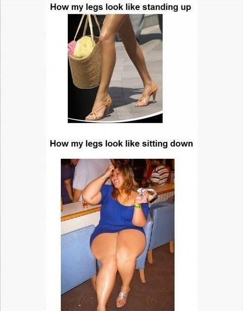 GIRL'S LOGIC WITH LEGS
