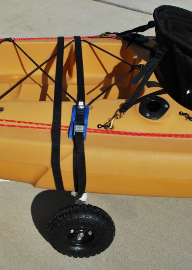 how to build a kayak cart