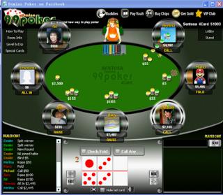 Cara Mudah bermain poker di facebook
