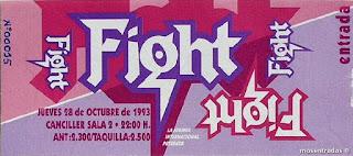 entrada de concierto de fight
