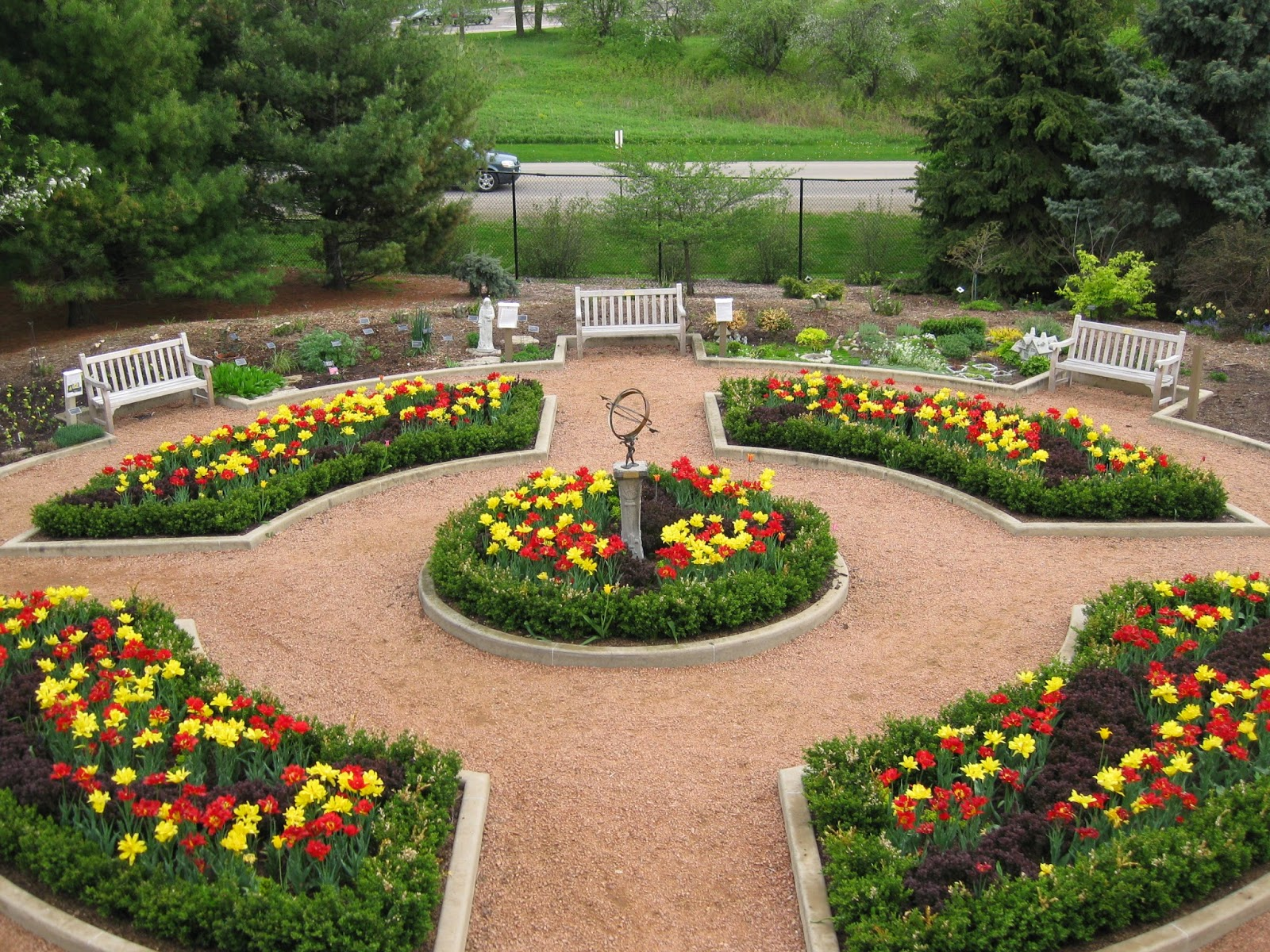 think global, garden local: herb gardens at the green bay