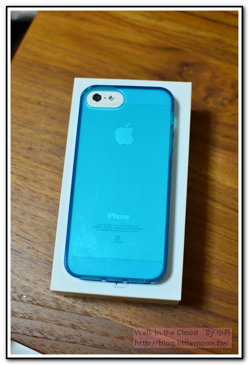 透亮的銀蘋果與iPhone字樣