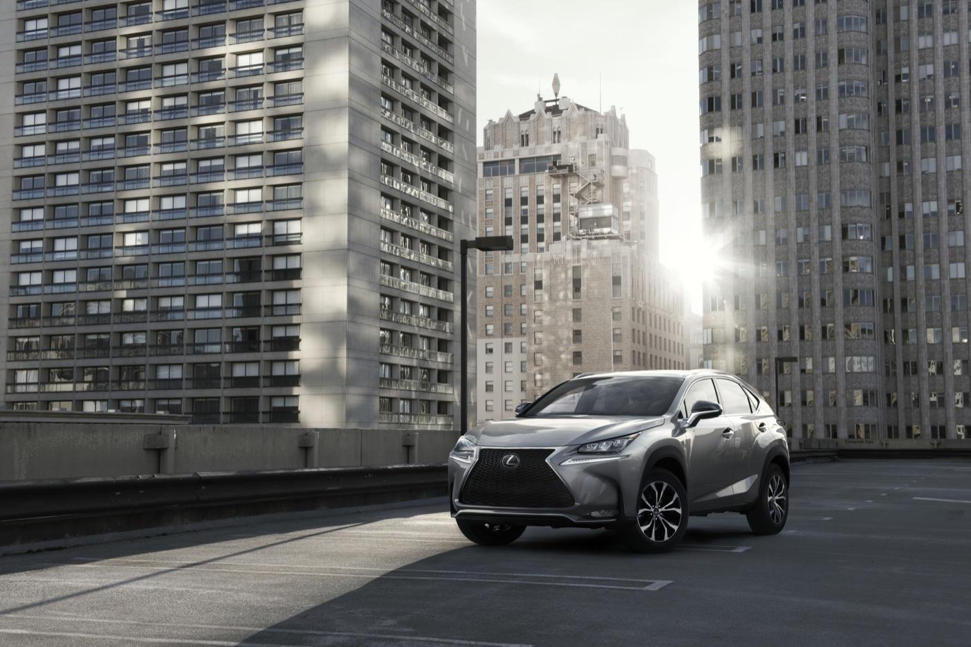 2015 Lexus NX front angle