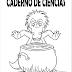 Capa de Caderno de Ciências Para Imprimir