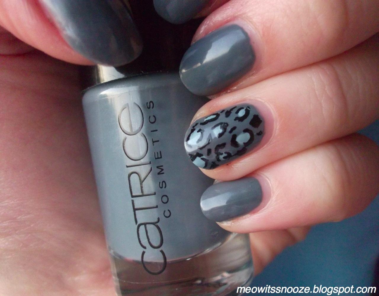 como pintar as unhas Decoração Leopard
