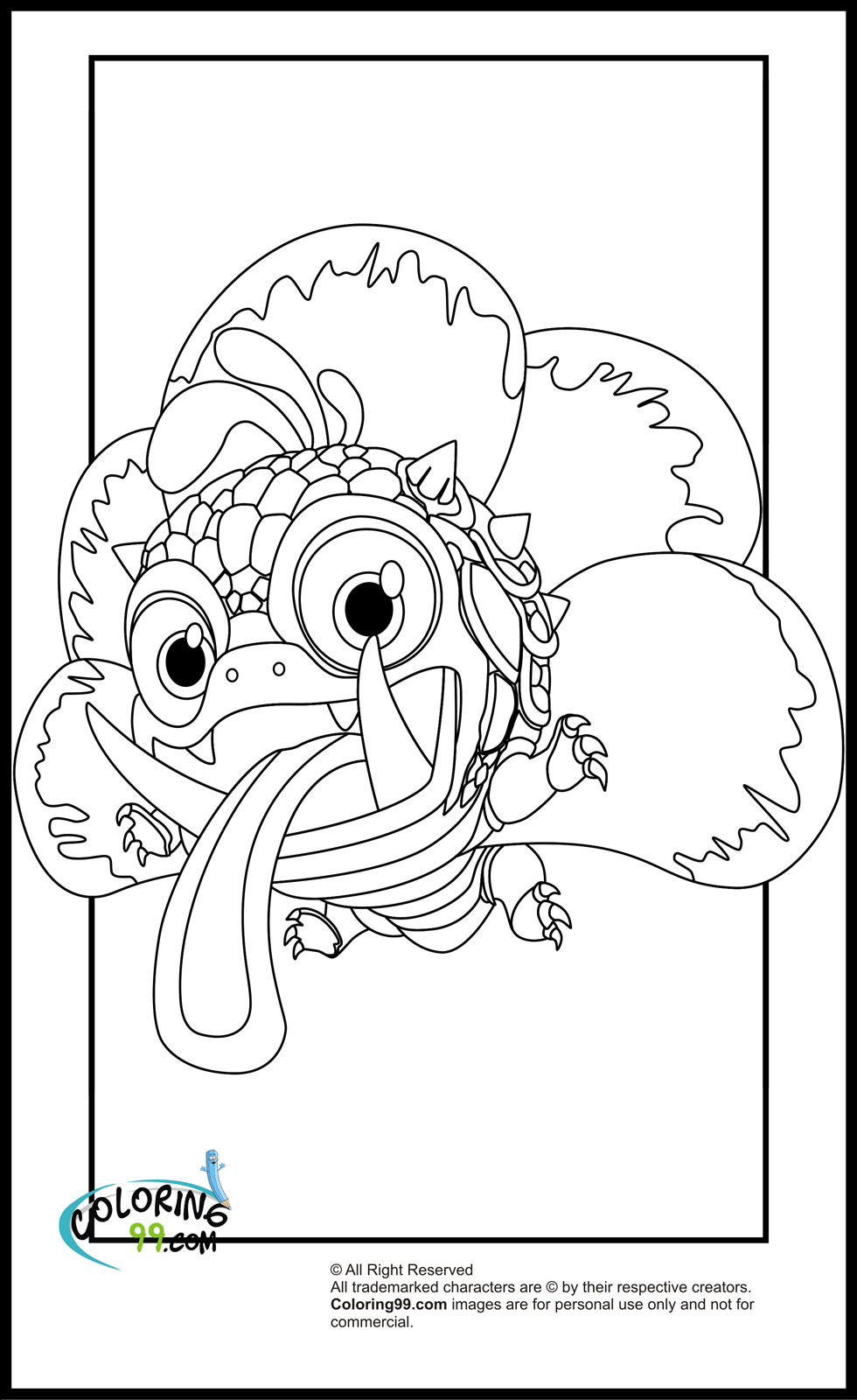 Skylanders Magic Element Coloring Pages | Team colors