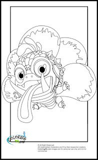 skylanders magic wrecking ball coloring pages