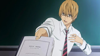Akito Takagi - drugi bohater serialu Bakuman