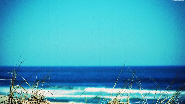 Summer at the Shore HD Wallpaper