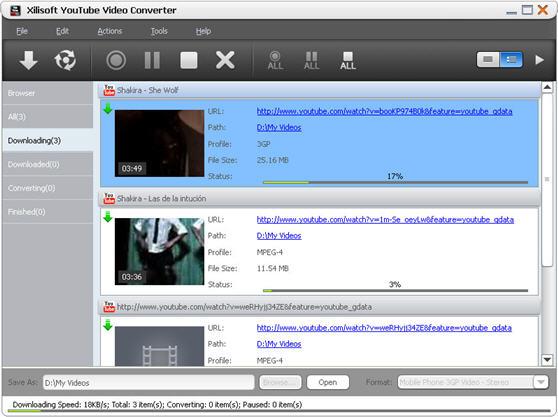 Xilisoft YouTube Video Converter 3.5.5 Build 201300722