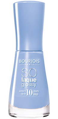 esmaltes de uñas azul Bourjois So Laque Glossy