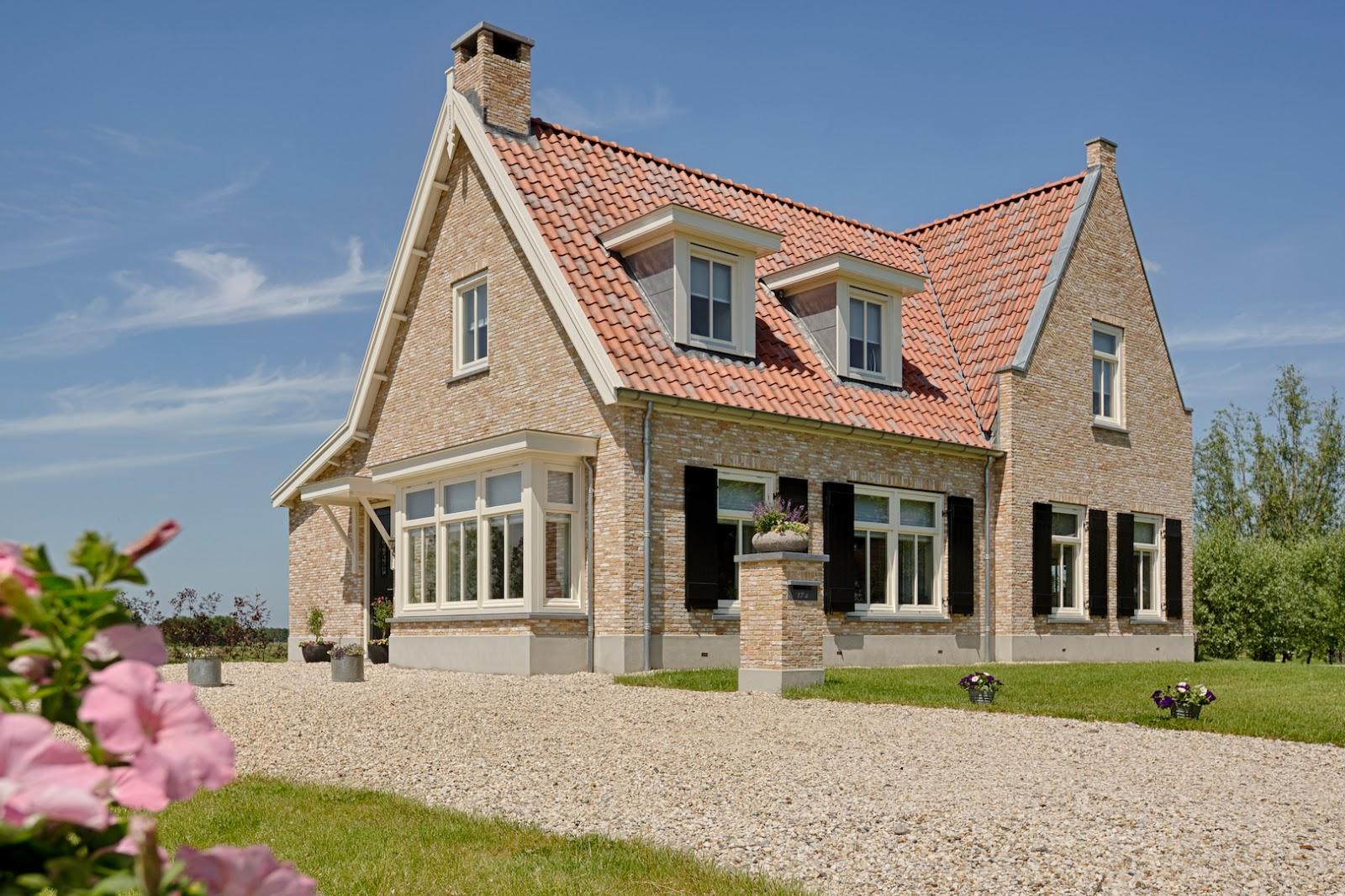 Fotoreportage landelijke woning for Landelijke villa bouwen
