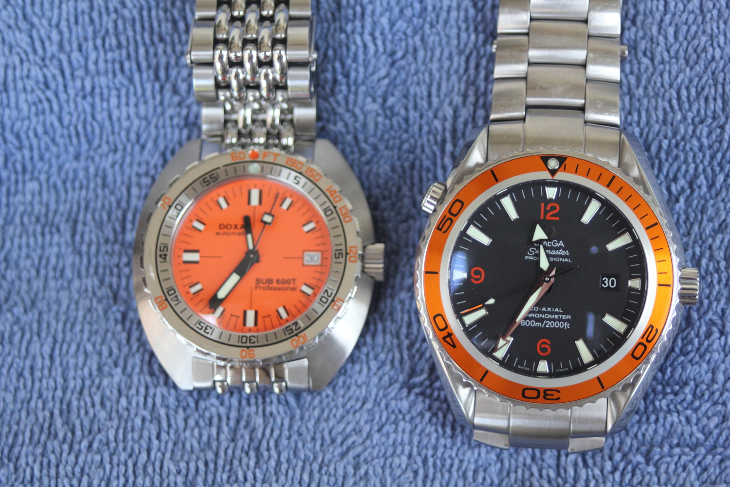 dress watch vs dive watch in search of the perfect watch the doxa 600t vs the