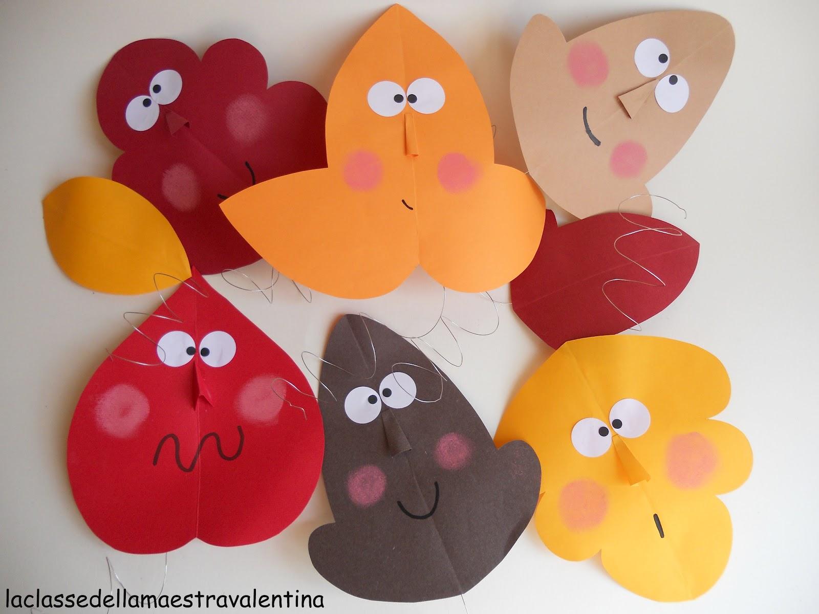 La classe della maestra valentina preparativi per la for Addobbi autunno scuola infanzia