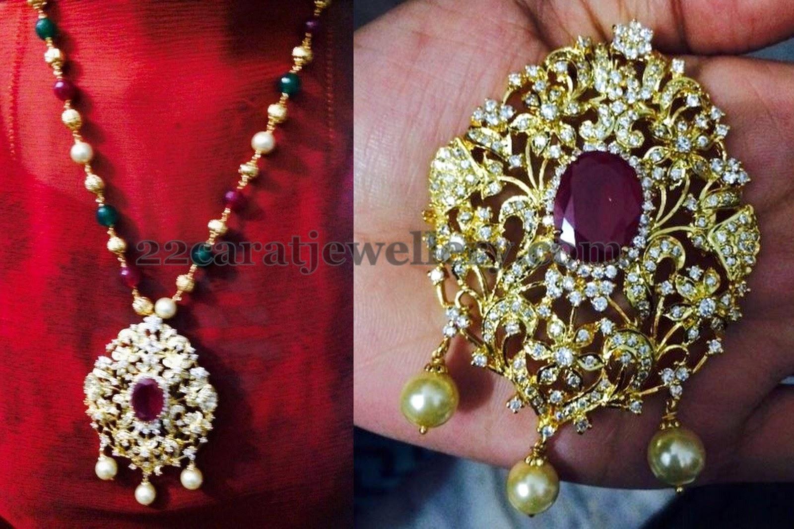 1 gram gold cz pendants gallery jewellery designs 1 gram gold cz pendants gallery aloadofball Images