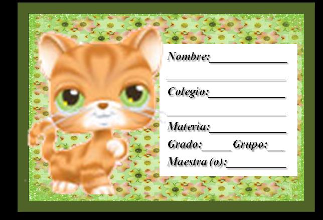Casita Curacao: Etiquetas para cuadernos Pet Shop