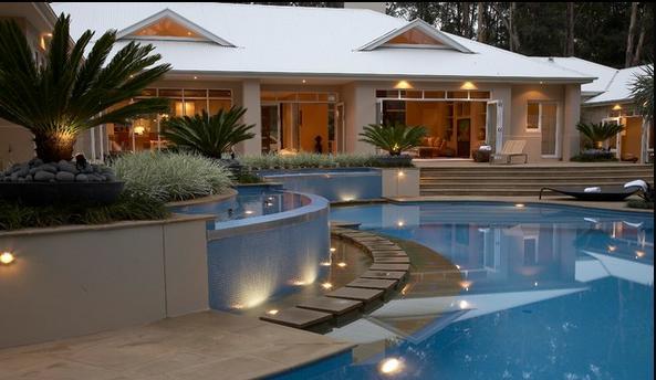 fotos jardins piscinas:fotos jardines casas con terrazas y piscina en todas las fotos tenemos