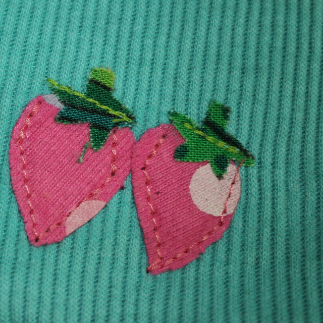 sewing over small appliques