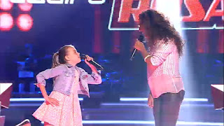 Rosario e Indigo cantan Estoy Aquí