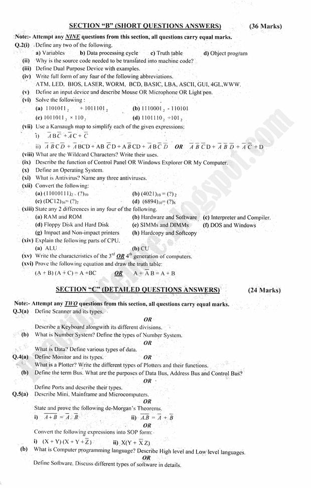 Practical Centre Preparation Papers 2015