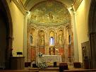 Interior de l'església de Sant Martí del Brull