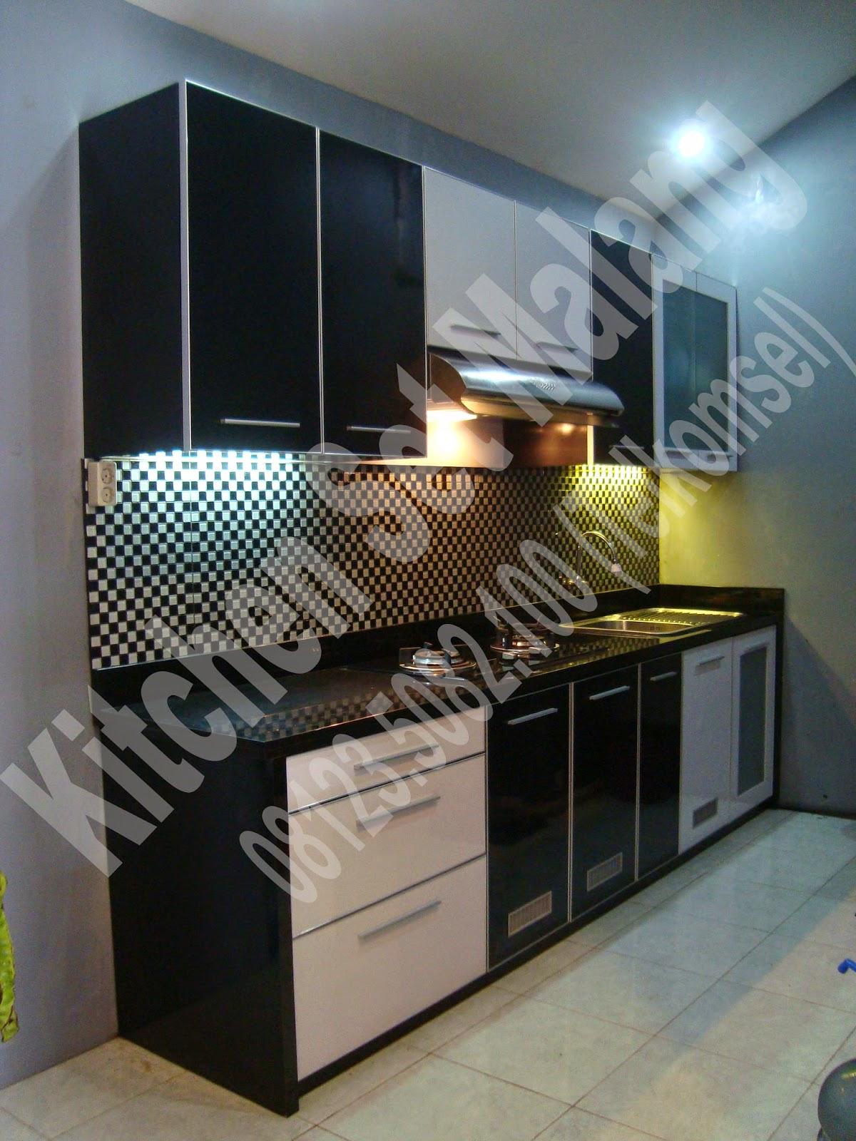 Jasa kitchen set malang jasa pembuatan kitchen set di for Bikin kitchen set