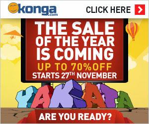 Konga Fall Yakata Christmas Sale