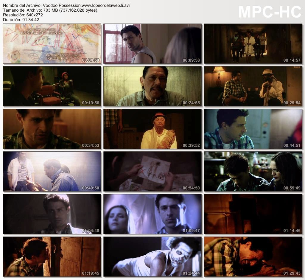 Voodoo Possession (2014) DVDRip Latino