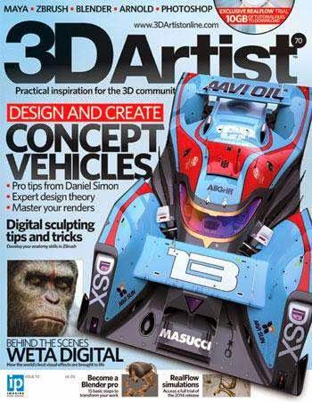 3DArtist Magazine Issue 70 July 2014