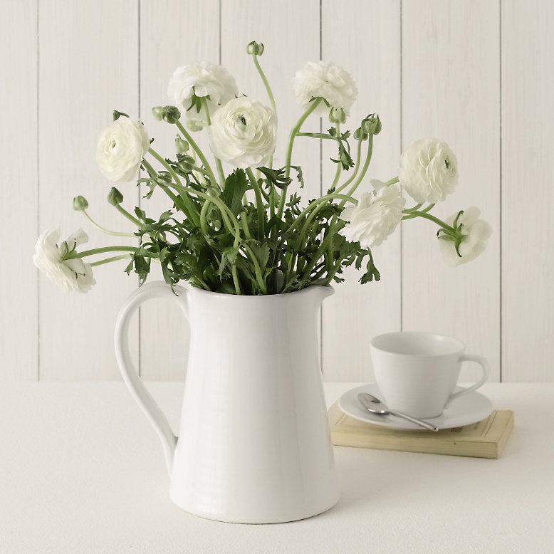 White flowers stockholm vitt interior design mightylinksfo