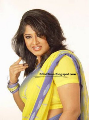 Bangladeshi film actress Moushumi