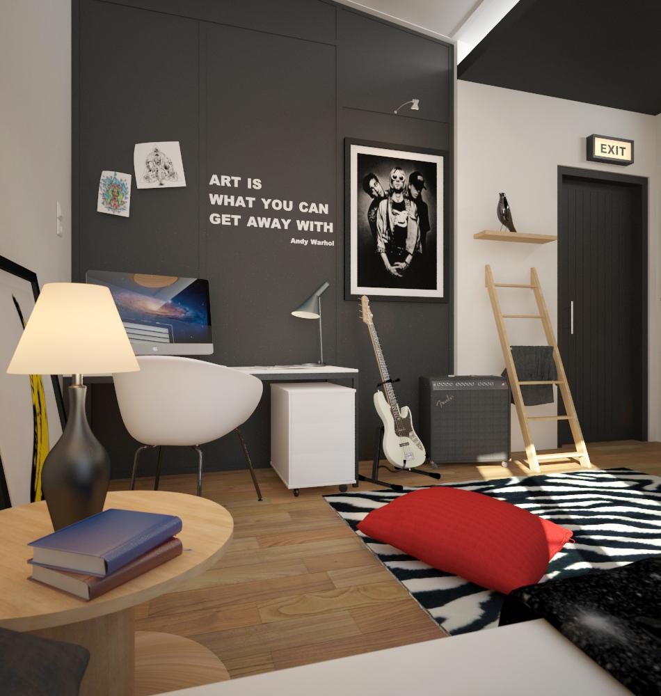 Urban Bedroom Design