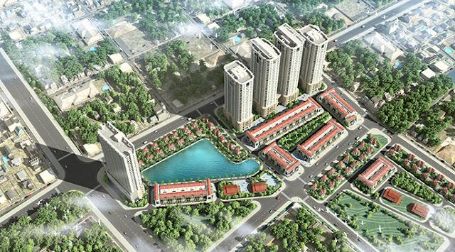 phối cảnh FLC Garden City Đại Mỗ