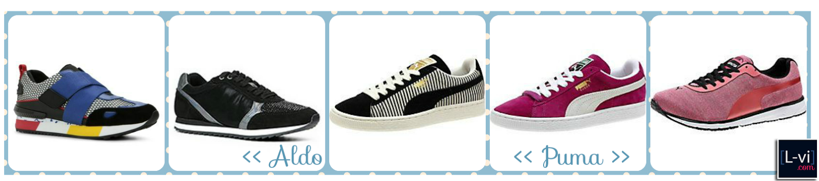 SS15 Sneakers for the ladies L-vi.com