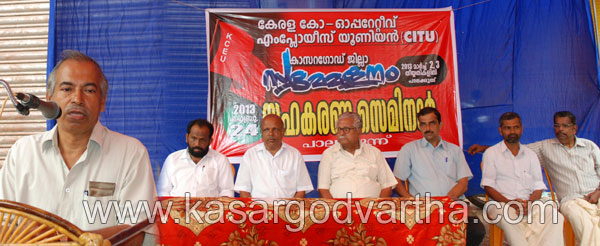 CITU, Conference, co-operative, Seminar, Conduct, Palakunnu, Kasaragod, Kerala, Malayalam news, Kasargod Vartha, Kerala News, International News, National News, Gulf News, Health News, Educational News, Business News, Stock news, Gold News.