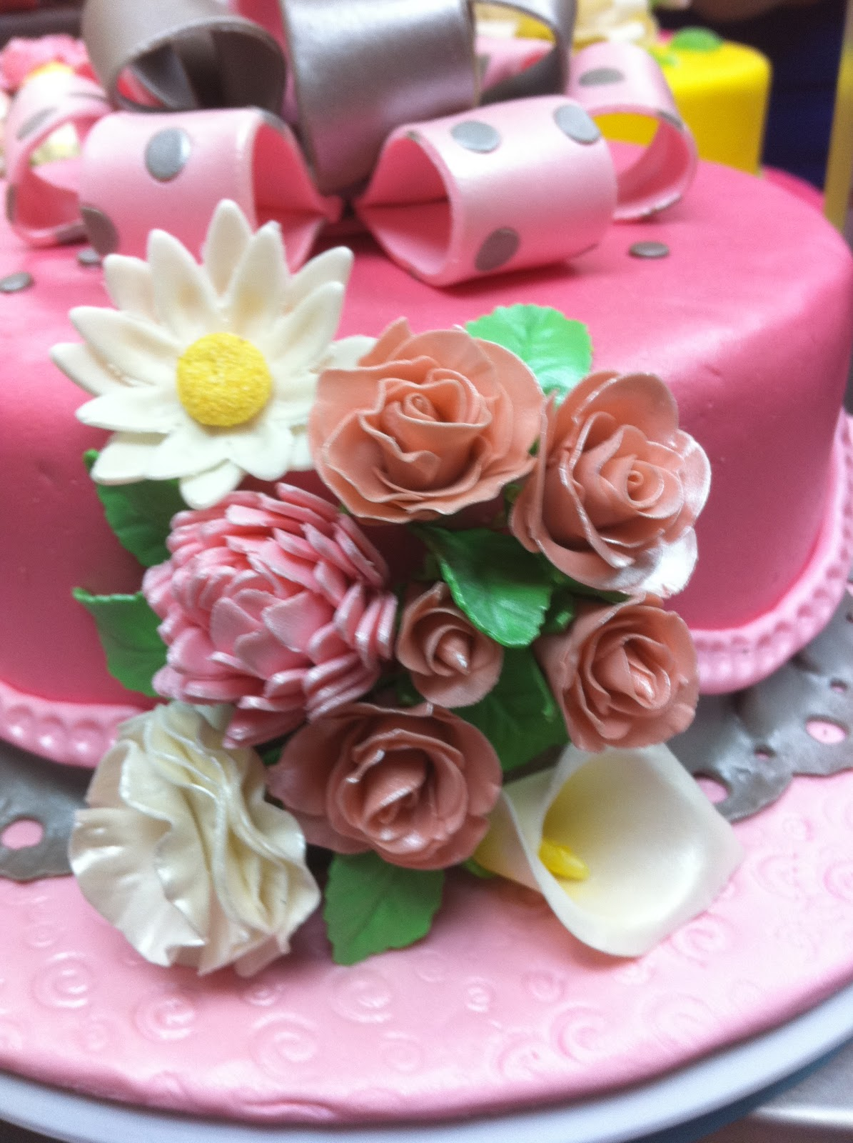 Home May\'de Cakes: Wilton Cake Decorating Course 3 : Gum Paste and ...