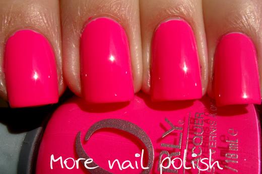 ... Orly - Beach Cruiser - Hot Pink Neon Summer Bright Nail Polish 20760