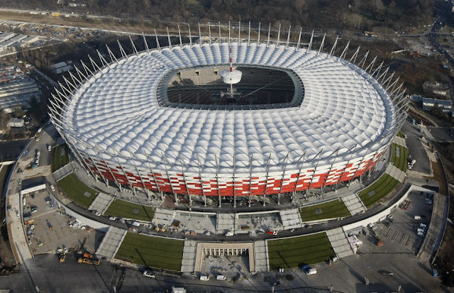 The National Stadium warsaw