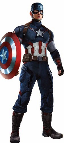 Kostum Captain America Tony Stark Avengers 2