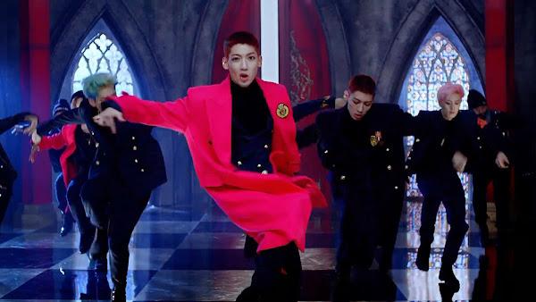 Boyfriend's Youngmin in Bounce MV