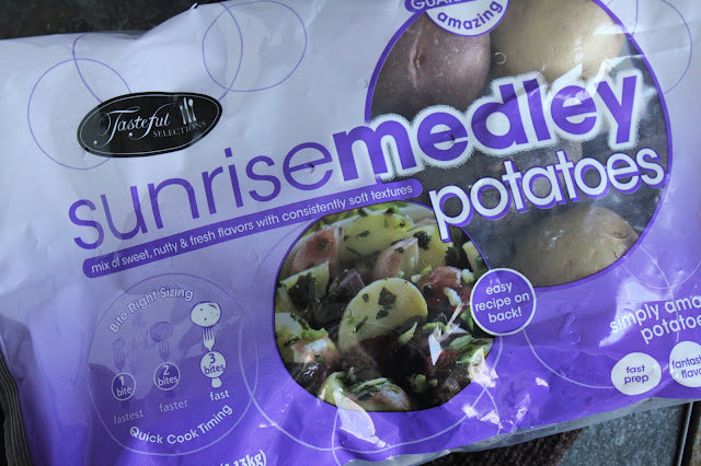 sunrise medley potatoes, purple, red, yellow