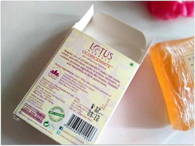 Lotus Herbals LICORICEWHITE Skin Whitening Cleanser