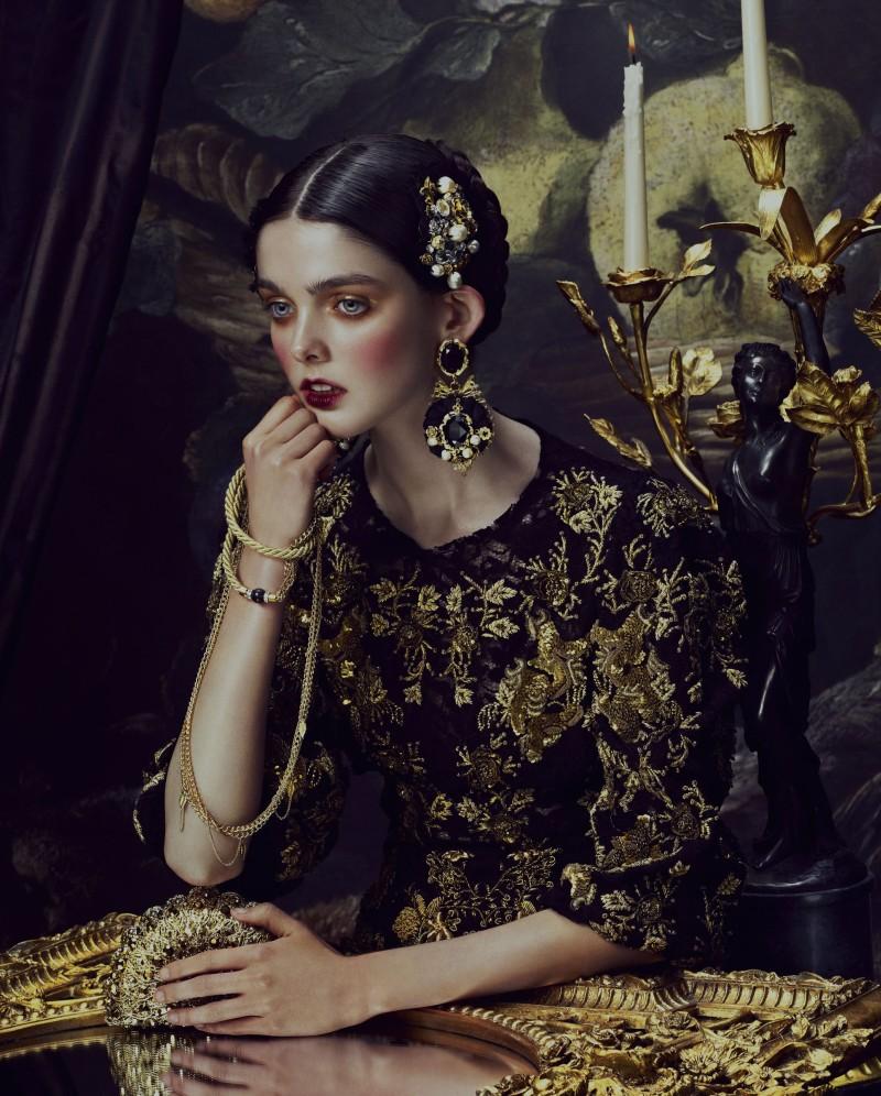 Heart Of Gold A Baroque Portrait