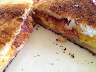 Not Your Usual Grilled Cheese No. 6: Everything But the Kitchen Sink